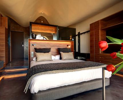 habitación premium doble hotel con bodega Mastinell