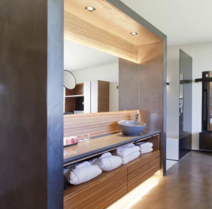 vista habitación Mastinell hotel con bodega