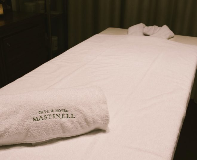 zona relax Mastinell hotel con bodega