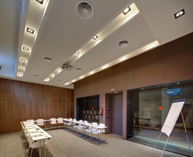 sala reuniones y eventos Mastinell hotel con bodega