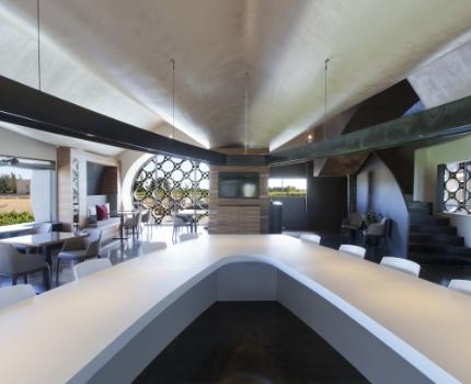 perspectiva Restaurante En Rima Mastinell hotel con bodega