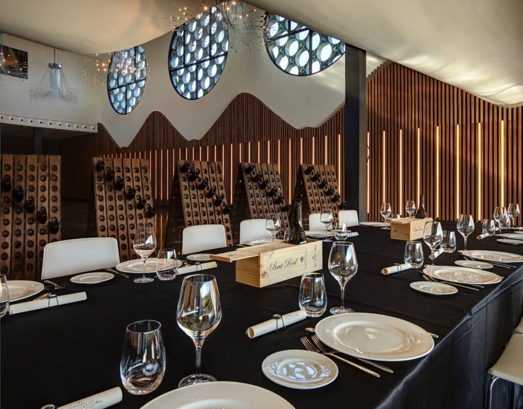 salon para eventos en Mastinell hotel con bodega