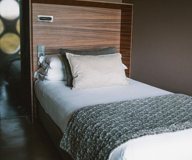habitación hotel con bodega
